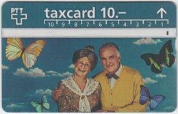 SWITZERLAND A-715 Hologram PTT - People, Seniors - 511C - Used - Schweiz