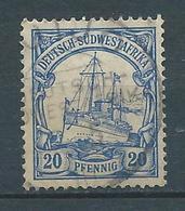 AFRIQUE DU SUD OUEST 1900 . Colonie Allemande. N° 16 . Oblitéré . - Colonie: Afrique Sud-Occidentale