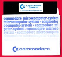 M3-36568 COMMODORE 1980s. Program - Logo Utilities C64105. Floppy Disk. - Disquettes 5.25