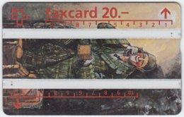 SWITZERLAND A-946 Hologram PTT - Occupation, Clown - 406B - Used - Schweiz