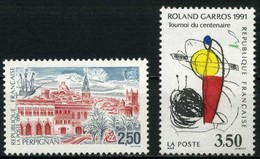 FRANCE       N° Y&T  2698 Et 2699 ** - France