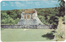 Chichen-Itza, Yuc. - El Trono En El Juego De Pelota - Play Ball Trone - (Mexico) - Mexico