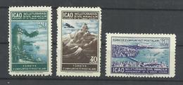 TURQUIA YVERT   AEREO 19/21  MNH  ** - 1921-... República