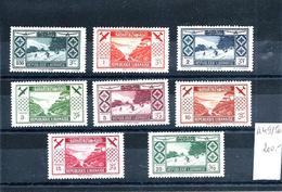 Col.Fr.- Grand Liban - P.A. 49 à 56 - Neufs Sans Gomme - Côte : 200€ - Grand Liban (1924-1945)