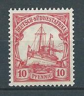 AFRIQUE DU SUD OUEST 1900 . Colonie Allemande. N° 15 Neuf (*) Sans Gomme . - Colonie: Afrique Sud-Occidentale