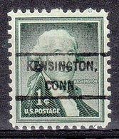 USA Precancel Vorausentwertung Preo, Locals Connecticut, Kensington 807 - Vereinigte Staaten