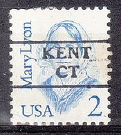 USA Precancel Vorausentwertung Preo, Locals Connecticut, Kent 872 - Vereinigte Staaten