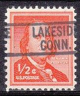 USA Precancel Vorausentwertung Preo, Locals Connecticut, Lakeside 819 - Vereinigte Staaten