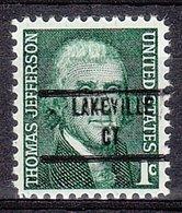 USA Precancel Vorausentwertung Preo, Locals Connecticut, Lakeville 853 - Vereinigte Staaten