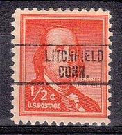 USA Precancel Vorausentwertung Preo, Locals Connecticut, Lichtfield 748 - Vereinigte Staaten