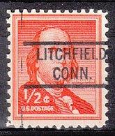 USA Precancel Vorausentwertung Preo, Locals Connecticut, Lichtfield 821 - Vereinigte Staaten