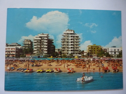 """Cartolina Viaggiata """"RIMINI Piazzale  Pascoli""""  1981 - Rimini"""
