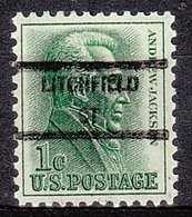 USA Precancel Vorausentwertung Preo, Locals Connecticut, Lichtfield 846 - Vereinigte Staaten