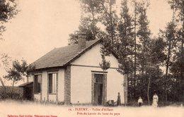 CPA, Fleury, Vallée D'Aillant, Près Du Lavoir Du Haut Pays, Animé - Other Municipalities