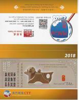 Macau / Macao Post / Poste Calender / Calendaire 2018 - Calendriers