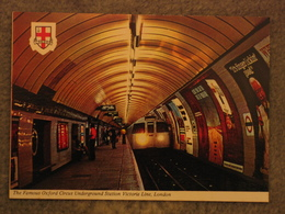 OXFORD CIRCUS UNDERGROUND STATION - London