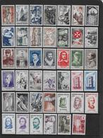 FRANCE - Année Complète 1956  **  - Cote : 163 € - 1950-1959