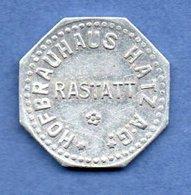 Rastatt --  Hof-Brauhaus Hatzag  -  Gut Fur 1 Glas Bier  -  Petit Module - Professionals/Firms