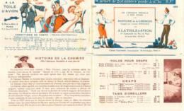 FRANCE - Carnet Couverture Vide Histoire Chemise - 50c Semeuse Lignée Rouge IIB 50c Jeanne D'Arc Bleu I YT 199 257 - Usage Courant