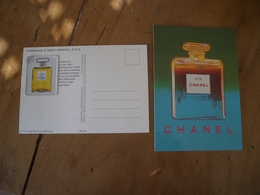 Carte Chanel N°5 A/patch - Perfume Cards