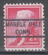 USA Precancel Vorausentwertung Preo, Locals Connecticut, Marble Dale 821 - Vereinigte Staaten