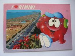 "Cartolina Viaggiata ""RIMINI"" 1984 - Rimini"