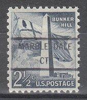 USA Precancel Vorausentwertung Preo, Locals Connecticut, Marble Dale 846 - Vereinigte Staaten