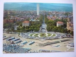 """Cartolina Viaggiata """"RIMINI Panorama Aereo""""  1982 - Rimini"""