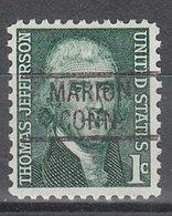 USA Precancel Vorausentwertung Preo, Locals Connecticut, Marion 819 - Vereinigte Staaten