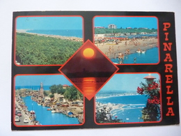 """Cartolina Viaggiata """"PINARELLA"""" 1983 - Rimini"""