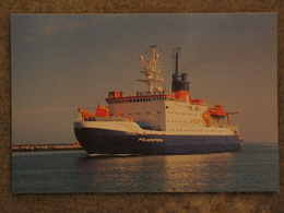 POLARSTERN GERMAN POLAR RESEARCH SHIP - Cargos