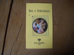 Carte Desprez Bal à Versailles A/patch* - Perfume Cards