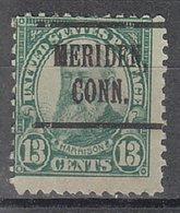 USA Precancel Vorausentwertung Preo, Locals Connecticut, Meriden 622-219 - Vereinigte Staaten
