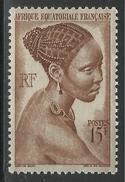 AFRIQUE EQUATORIALE FRANCAISE - AEF - A.E.F. - 1947 - YT 224** - A.E.F. (1936-1958)