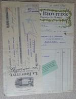 Facture Et Mandat - Usine Hydro électrique - La Biovitine - Oloron Sainte Marie - 1917 - France