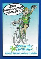 A.C.Dessin De Tabary FAITES Du VELO Poitou-Charentes - Autocollants
