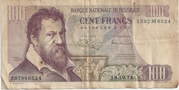 Belgique 100 Francs 18.10.71 - [ 2] 1831-... : Royaume De Belgique