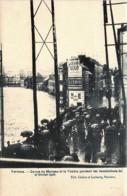 Belgique - Verviers - La Rue Du Marteau Et La Vesdre Pendant Les Inondations Du 27/02 1906 - Verviers