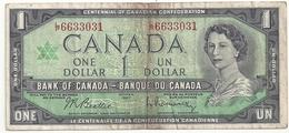 Canada 1 Dollar 1967 - Canada