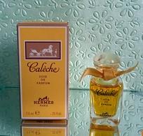 """Miniature  """"CALÈCHE"""" De HERMES ,Soie De Parfum  5 Ml Dans Sa  Boite - Miniatures Modernes (à Partir De 1961)"""