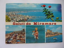 """Cartolina Viaggiata """"Saluti Da MIRAMARE"""" 1978 - Rimini"""
