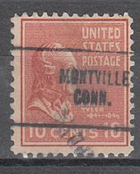 USA Precancel Vorausentwertung Preo, Locals Connecticut, Montville 704 - Vereinigte Staaten
