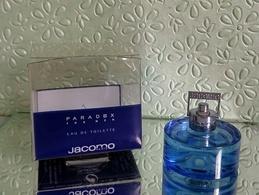 """Miniature """"PARADOX"""" De JACOMO  Eau De Toilette 5 Ml Dans Sa Boite En Rhodoïd - Miniatures Modernes (à Partir De 1961)"""