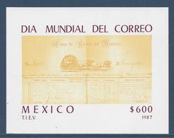 Mexique Bloc - Neuf Sans Charnière - 1987 - Mexico