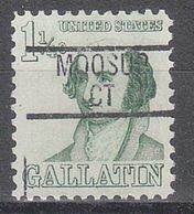 USA Precancel Vorausentwertung Preo, Locals Connecticut, Moosup 839 - Vereinigte Staaten
