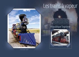 Togo  2014 Steam Trains - Togo (1960-...)