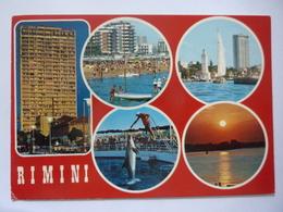 "Cartolina Viaggiata ""RIMINI""  1975 - Rimini"