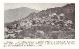 1924 - Iconographie -  Moïta (Corse) - Vue Générale - FRANCO DE PORT - Vecchi Documenti