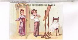 Chromos  A LA  GRANDE SPECIALITE DE BLANC E. DEMONT  PARIS..CH222 - Autres