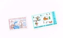 Noël .Le Baron De L'Espérance1990,1992.MNH,Neuf Sans Charnière,Falzlos.Yvert 533,570 - St.Pierre Et Miquelon